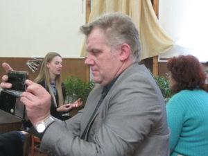 Пресвитер 9 церкви глухонемой Вячеслав Манякин