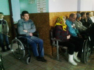 Служение в доме инвалидов