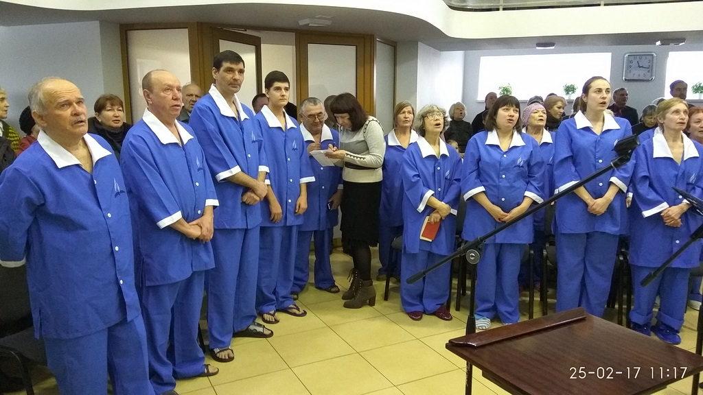 Крещение в Харькове