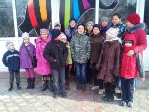 На экскурсии в Днепропетровске