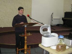 Областной пастор Юрий Шелкунов
