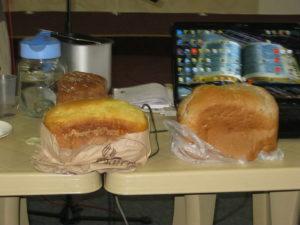 Свежий хлеб, испеченный на миссионерском конгрессе в Запорожье