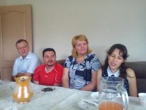 Члены второй Днепровской общины провели служение в Горяновском доме для инвалидов