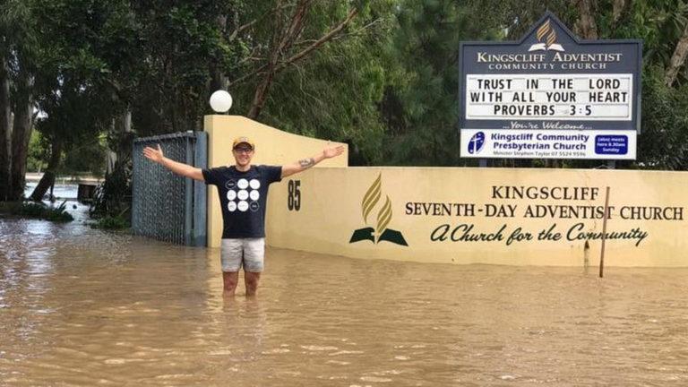Адвентистское гуманитарное агентство приступило к помощи пострадавшим от урагана в Австралии