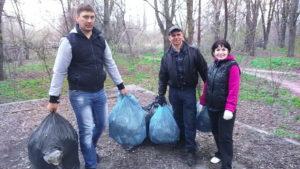 Уборка в Терновском районе