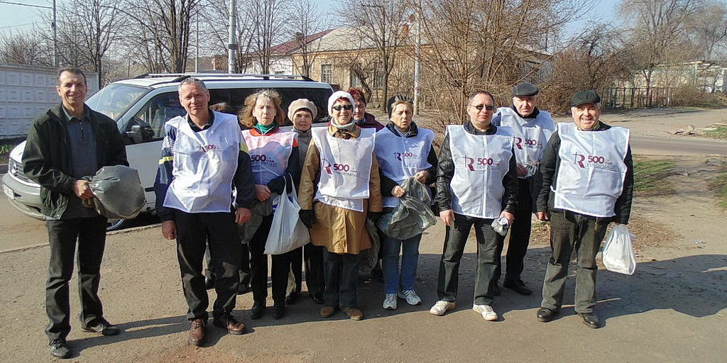 Криворожские адвентисты общины №10 на воскреснике