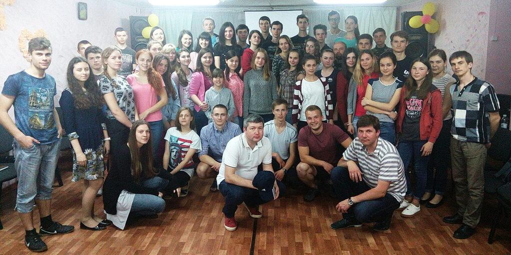 Студенты Школы Молодёжных Лидеров