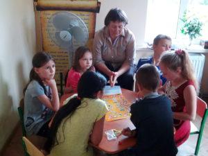 Каникулярная школа в Волчанске