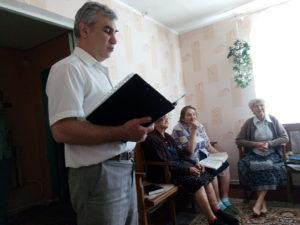 Говорит пастор Петр Кривой