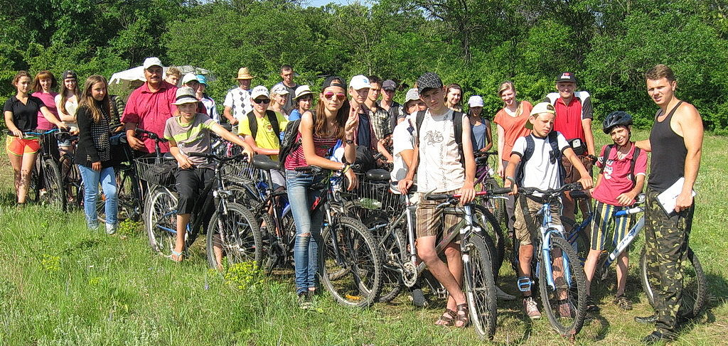Велосипедный лагерь 2015 года