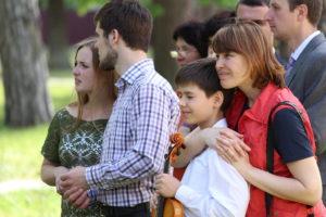 Участники свадебной церемонии