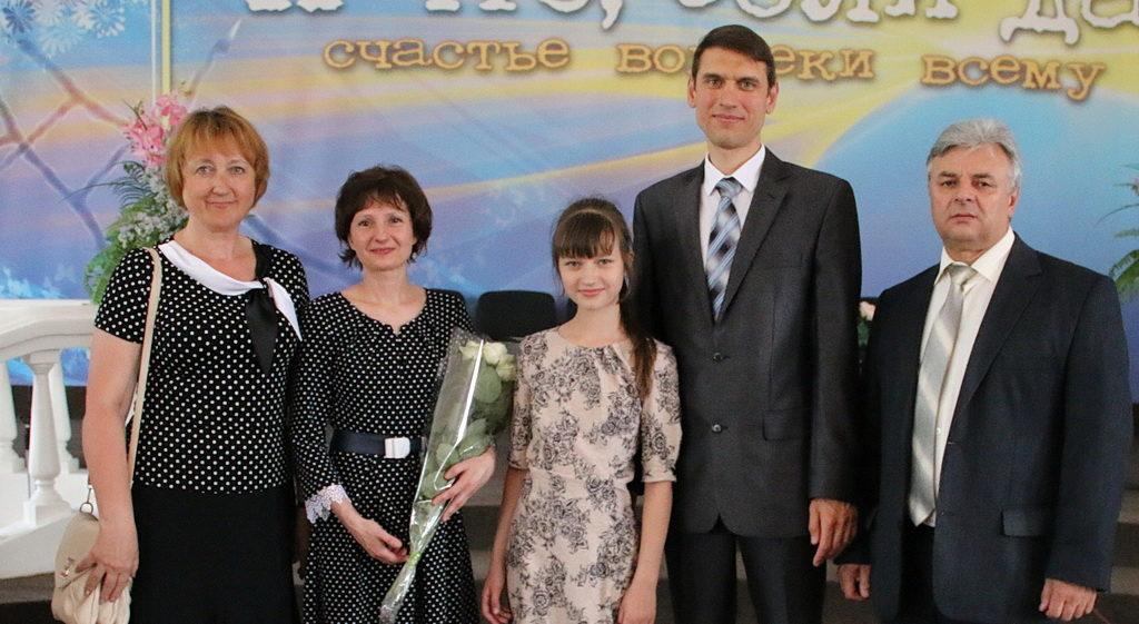 Семья Валеевых с семьей Корниенко