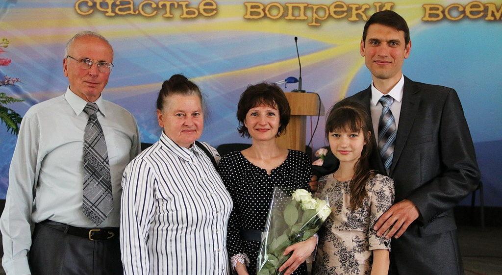 Семья Валеевых с семьей Пилипчук