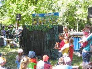 Выступление кукольного театра