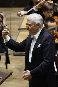 Герберт Бломштедт в Лейпциге 17-го декабря 2015