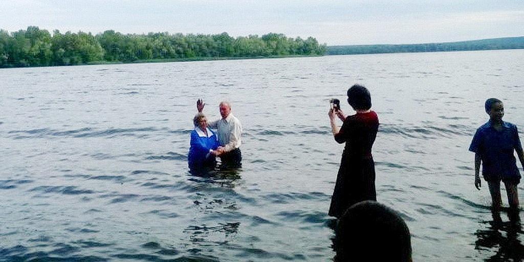 Крещение в Обуховке