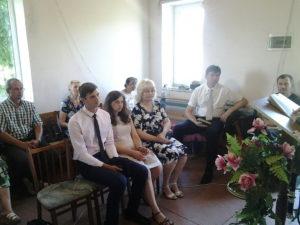 Во время служения