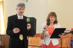 Ведущие свадебной программы семья Столяренко