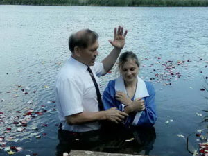 Крещение Оксаны