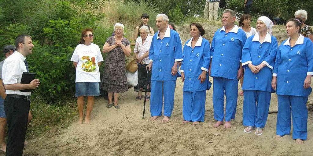 Крещение в Запорожье 2 июля