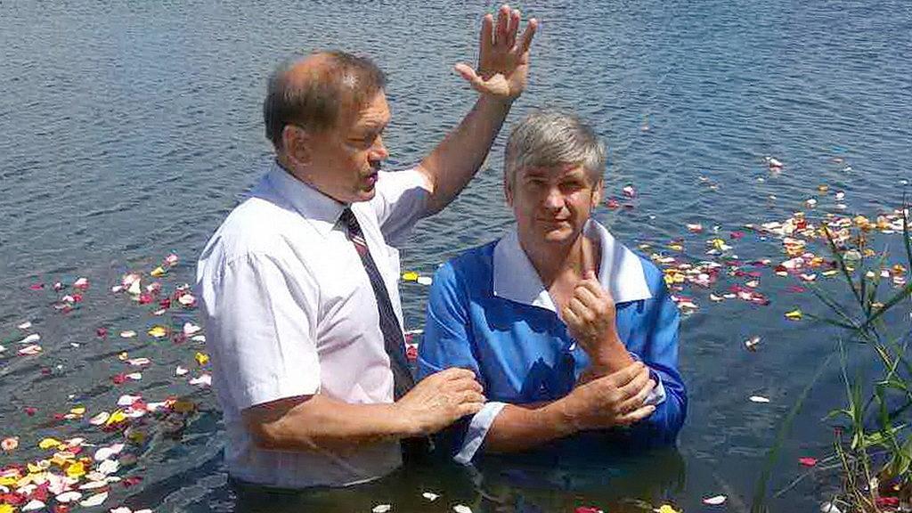 Крещение в Соленом