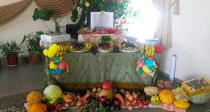 Жатвенное благодарственное служение прошло в церкви поселка Обуховское
