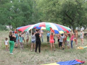 Более 60 ребят из поселка Черкасский участвовали в «Стране Здоровья»