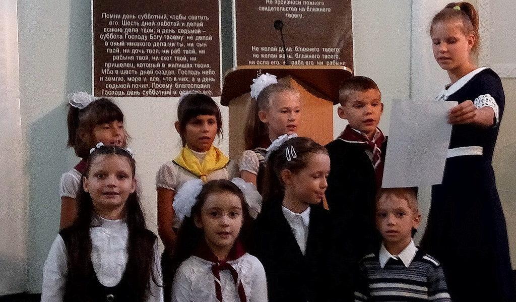 Благословением и специальной программой начался новый учебный год в Никополе