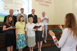 Первая Криворожская община провела торжественное служение, посвященное Дню знаний