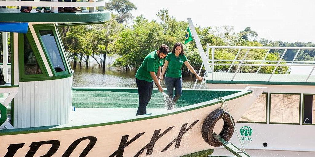 Новейший миссионерский корабль строится в Амазонке на десятилетия службы