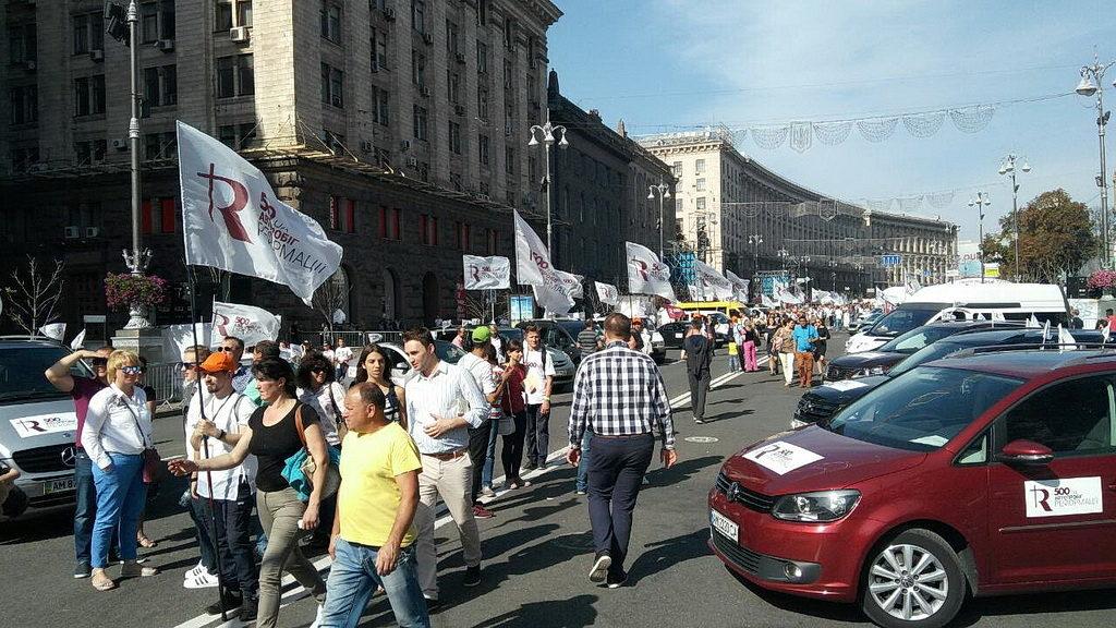 Свято подяки зібрало в центрі Києва сотні тисяч християн