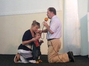 Служение благословения ребенка состоялось в Никополе
