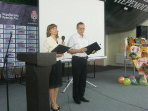Ведущие программы Лилия и Александр Зайки