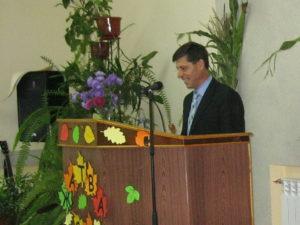 Говорит пастор Юрий Шелкунов