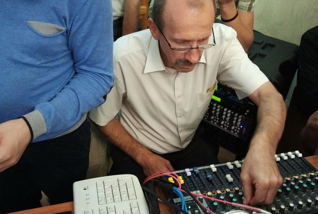 Несколько дней в Днепре проходило обучение звукооператоров