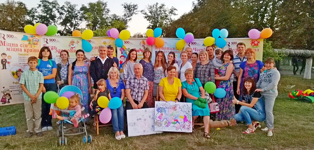 Адвентисти провели служіння під час святкування річниці міста Синельникове