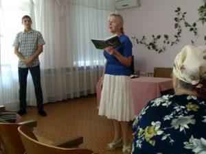 О Господе через призму благодарности рассказали пенсионерам адвентисты в Марганце