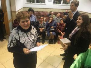 Победитель лотереи Светлана Киреева