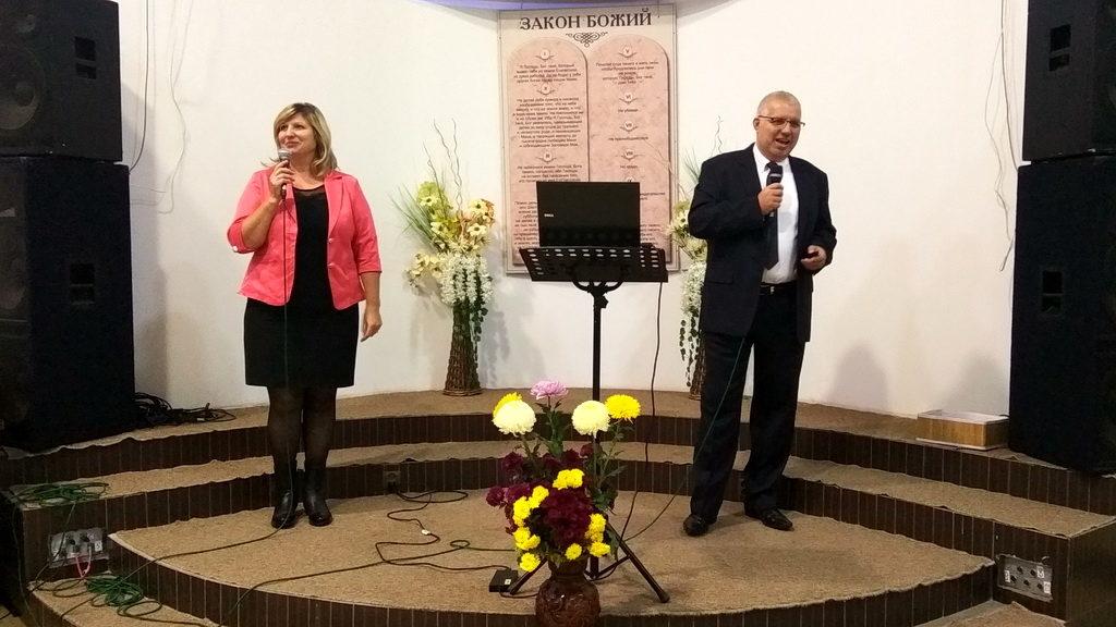 Евангелист Павел Шимек из Чехии приглашает харьковчан стать на путь веры