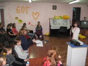 Відділ дитячого служіння провів програму «Від мрійниці до здібниці»
