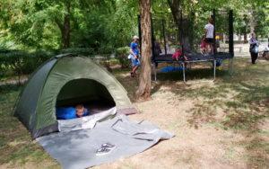 Следопытские палатки
