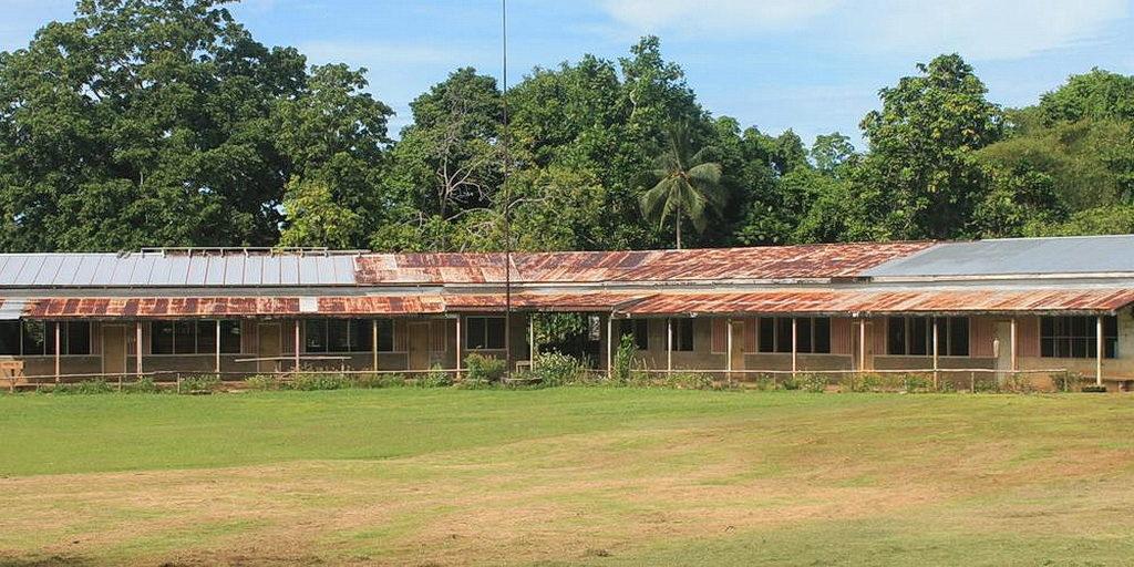 Блок классов адвентистской Школы Болиу, заснятый в 2015 году. [Фото: Adventist Record]