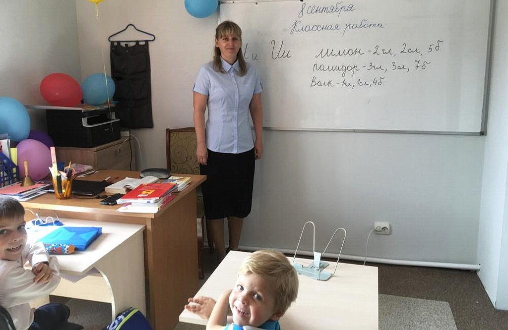 Одна из новейших школ находится на дальневосточном Российском острове Сахалин, недалеко от Японии. [Фото: Владимир Ткачук, Евро-Азиатский дивизион]