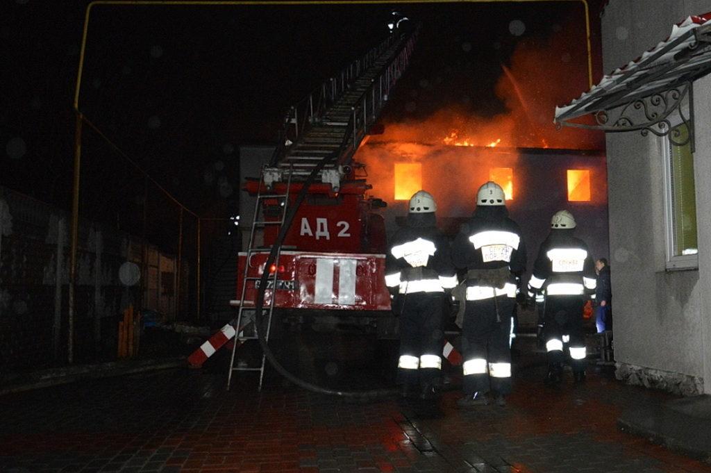 В Днепре горело здание Церкви Адвентистов седьмого дня