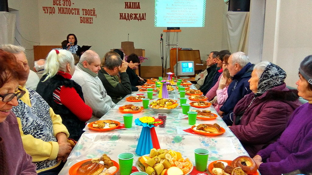 Семейный отдел провел встречу в Кривом Роге