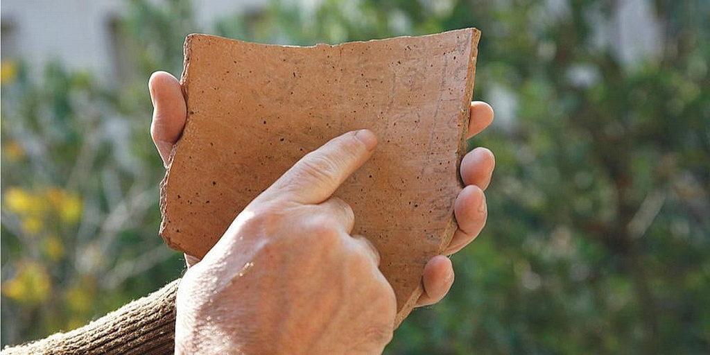 Самая старая еврейская надпись, которая когда-либо была найдена, была обнаружена студентами и преподавателями Южного Адвентистского университета в 2008. [Фото: Южный Адвентистский Университет]