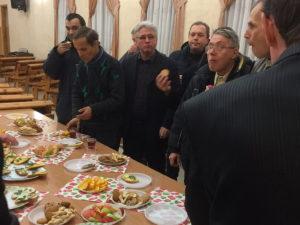 Мужской клуб организовала церковь в Днепре
