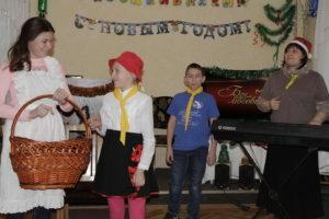 Вегетарианские угощения на новый год приготовили члены церкви Софиевка своим гостям