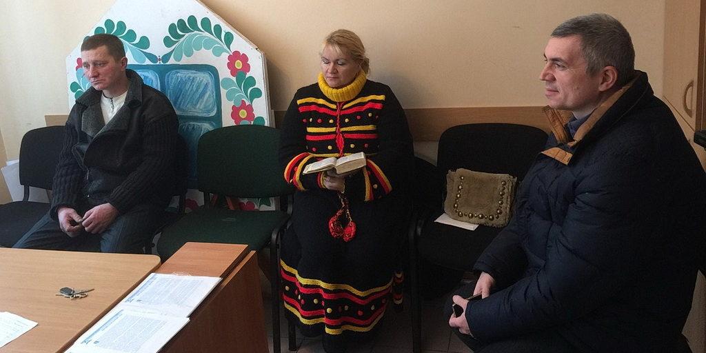 Ученики преподают в пасторском классе в Днепре