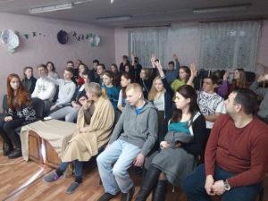 Молодежь Восточно-Днепровской конференции провела зимний лагерь